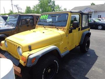 2006 Jeep Wrangler for sale at ROUTE 6 AUTOMAX - THE AUTO EXCHANGE TRADE LOT in Harvey IL