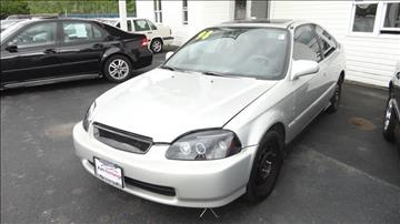 1998 Honda Civic for sale at ROUTE 6 AUTOMAX - THE AUTO EXCHANGE TRADE LOT in Harvey IL