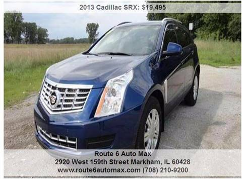 2013 Cadillac SRX for sale at ROUTE 6 AUTOMAX in Markham IL