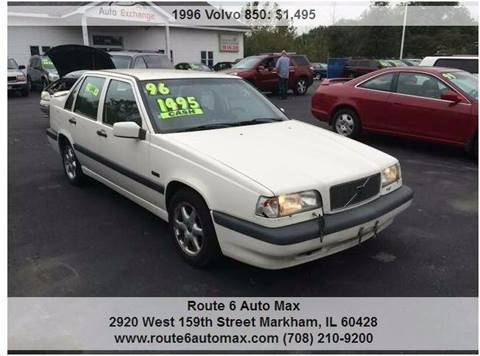 1996 Volvo 850 for sale at ROUTE 6 AUTOMAX - THE AUTO EXCHANGE TRADE LOT in Harvey IL