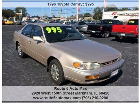 1996 Toyota Camry for sale at ROUTE 6 AUTOMAX - THE AUTO EXCHANGE TRADE LOT in Harvey IL
