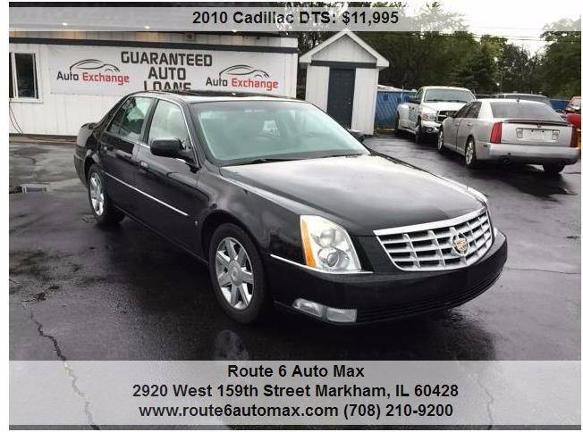 2010 Cadillac DTS for sale at ROUTE 6 AUTOMAX - THE AUTO EXCHANGE in Harvey IL