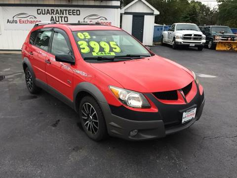 2003 Pontiac Vibe for sale in Harvey, IL