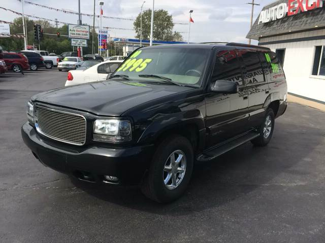 2000 GMC Yukon for sale at ROUTE 6 AUTOMAX - THE AUTO EXCHANGE in Harvey IL