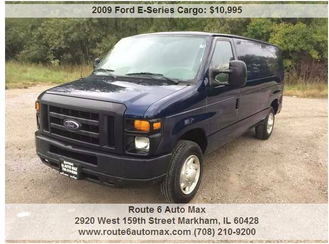 2009 Ford E-Series Cargo for sale at ROUTE 6 AUTOMAX in Markham IL