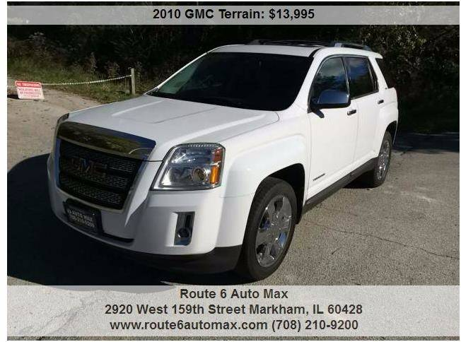 2010 GMC Terrain for sale at ROUTE 6 AUTOMAX in Markham IL