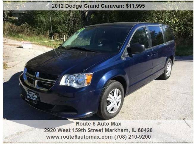 2012 Dodge Grand Caravan for sale at ROUTE 6 AUTOMAX in Markham IL