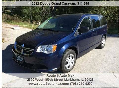2012 Dodge Grand Caravan for sale at ROUTE 6 AUTOMAX in Markham IL