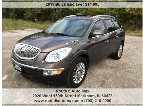 2011 Buick Enclave for sale at ROUTE 6 AUTOMAX in Markham IL
