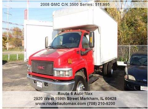 2008 GMC C/K 3500 Series for sale at ROUTE 6 AUTOMAX - THE AUTO EXCHANGE TRADE LOT in Harvey IL