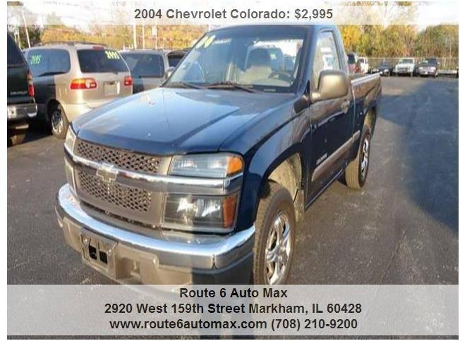 2004 Chevrolet Colorado for sale at ROUTE 6 AUTOMAX in Markham IL