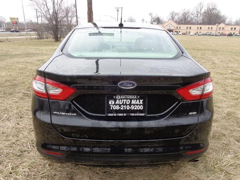 2014 Ford Fusion for sale at ROUTE 6 AUTOMAX in Markham IL