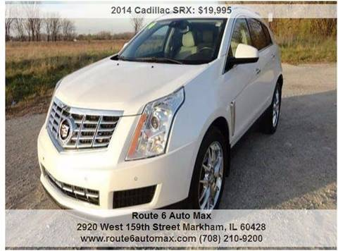 2014 Cadillac SRX for sale at ROUTE 6 AUTOMAX in Markham IL