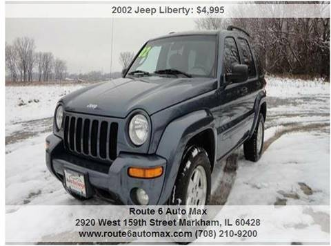 2002 Jeep Liberty for sale at ROUTE 6 AUTOMAX in Markham IL