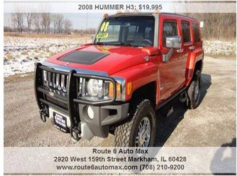 2008 HUMMER H3 for sale at ROUTE 6 AUTOMAX in Markham IL