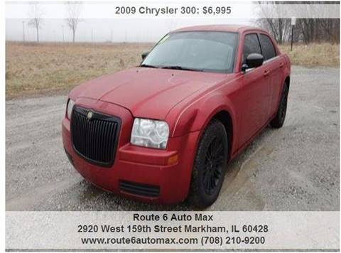 2009 Chrysler 300 for sale at ROUTE 6 AUTOMAX in Markham IL