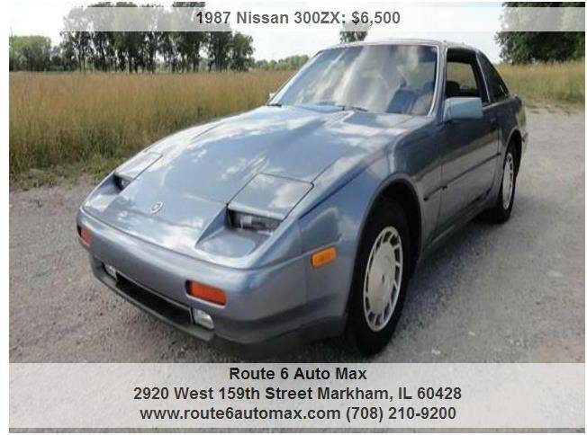 1987 Nissan 300ZX for sale at ROUTE 6 AUTOMAX in Markham IL