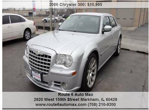2006 Chrysler 300 for sale at ROUTE 6 AUTOMAX - THE AUTO EXCHANGE in Harvey IL