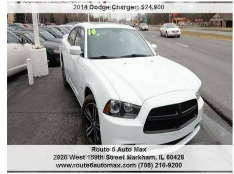 2014 Dodge Charger for sale at ROUTE 6 AUTOMAX in Markham IL