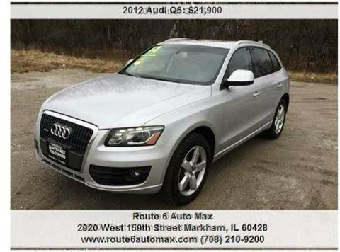 2012 Audi Q5 for sale at ROUTE 6 AUTOMAX in Markham IL