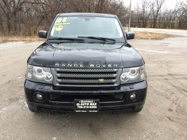 2008 Land Rover Range Rover Sport for sale at ROUTE 6 AUTOMAX in Markham IL