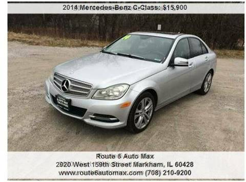2014 Mercedes-Benz C-Class for sale at ROUTE 6 AUTOMAX in Markham IL