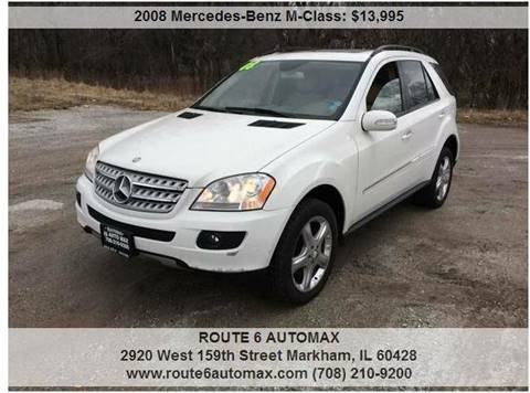 2008 Mercedes-Benz M-Class for sale at ROUTE 6 AUTOMAX in Markham IL