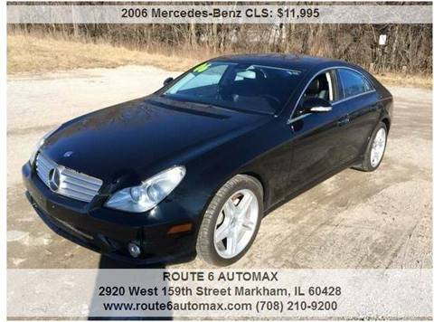 2006 Mercedes-Benz CLS for sale at ROUTE 6 AUTOMAX in Markham IL