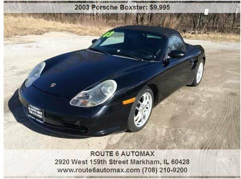 2003 Porsche Boxster for sale at ROUTE 6 AUTOMAX in Markham IL