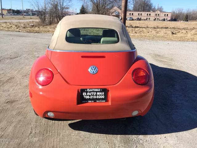 2004 Volkswagen New Beetle for sale at ROUTE 6 AUTOMAX in Markham IL