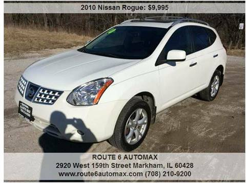 2010 Nissan Rogue for sale at ROUTE 6 AUTOMAX in Markham IL