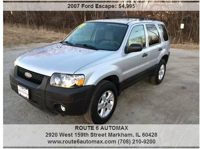 2007 Ford Escape for sale at ROUTE 6 AUTOMAX in Markham IL