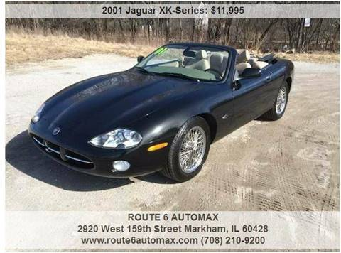 2001 Jaguar XK-Series for sale at ROUTE 6 AUTOMAX in Markham IL