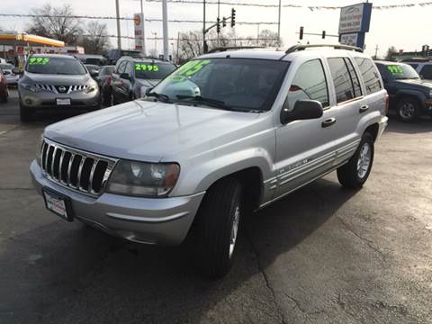 2002 Jeep Grand Cherokee for sale at ROUTE 6 AUTOMAX in Markham IL