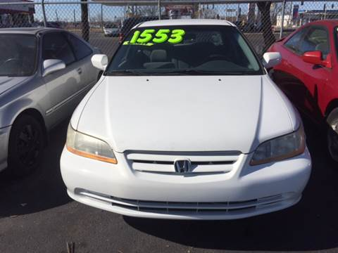 2001 Honda Accord for sale at ROUTE 6 AUTOMAX - THE AUTO EXCHANGE TRADE LOT in Harvey IL