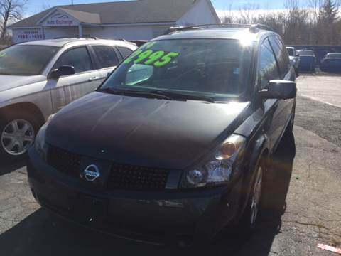 2004 Nissan Quest for sale at ROUTE 6 AUTOMAX - THE AUTO EXCHANGE TRADE LOT in Harvey IL