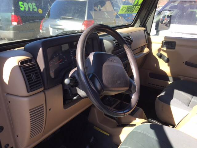 2001 Jeep Wrangler for sale at ROUTE 6 AUTOMAX in Markham IL