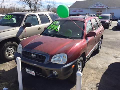 2003 Hyundai Santa Fe for sale at ROUTE 6 AUTOMAX in Markham IL