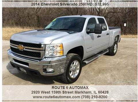 2014 Chevrolet Silverado 2500HD for sale at ROUTE 6 AUTOMAX in Markham IL