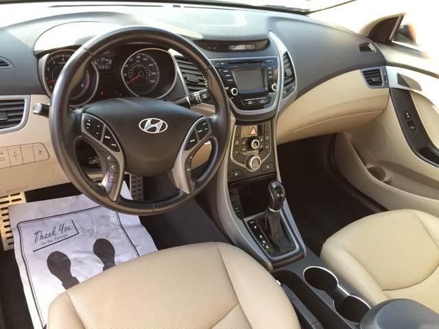 2015 Hyundai Elantra for sale at ROUTE 6 AUTOMAX in Markham IL