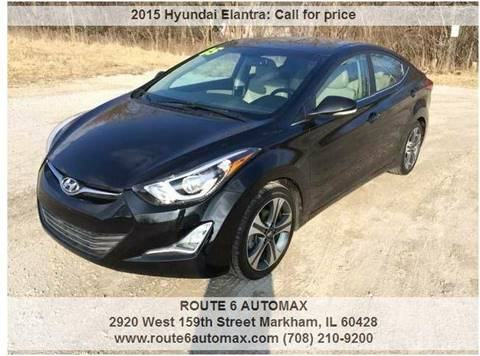 2015 Hyundai Elantra for sale at ROUTE 6 AUTOMAX in Markham IL