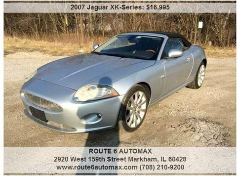 2007 Jaguar XK-Series for sale at ROUTE 6 AUTOMAX in Markham IL
