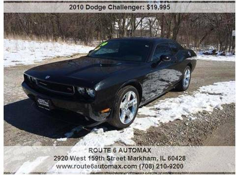 2010 Dodge Challenger for sale at ROUTE 6 AUTOMAX in Markham IL