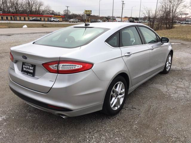 2016 Ford Fusion for sale at ROUTE 6 AUTOMAX in Markham IL