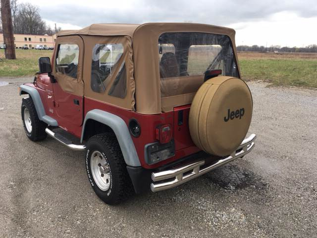 1998 Jeep Wrangler for sale at ROUTE 6 AUTOMAX in Markham IL