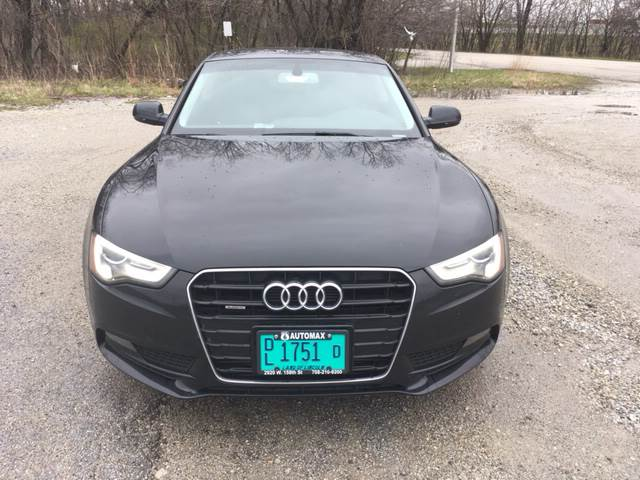 2013 Audi A5 for sale at ROUTE 6 AUTOMAX in Markham IL