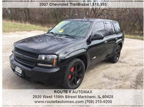 2007 Chevrolet TrailBlazer for sale at ROUTE 6 AUTOMAX in Markham IL