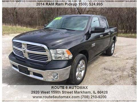 2014 RAM Ram Pickup 1500 for sale at ROUTE 6 AUTOMAX in Markham IL