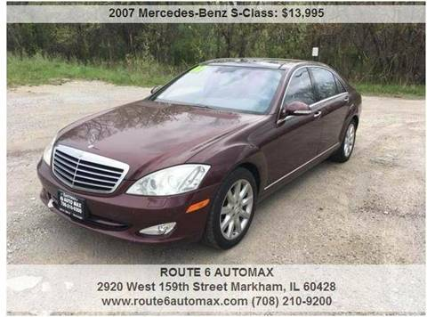 2007 Mercedes-Benz S-Class for sale in Markham, IL