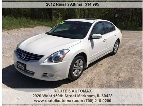 2012 Nissan Altima for sale at ROUTE 6 AUTOMAX in Markham IL